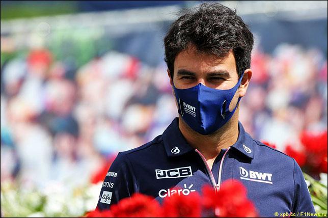 Серхио Перес примет участие в Гран При