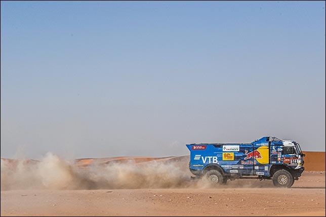 Андрей Каргинов установил личный рекорд на ралли Дакар