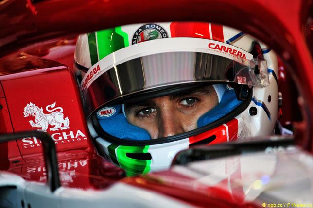 Джовинацци: Моё время в Ferrari ещё не наступило