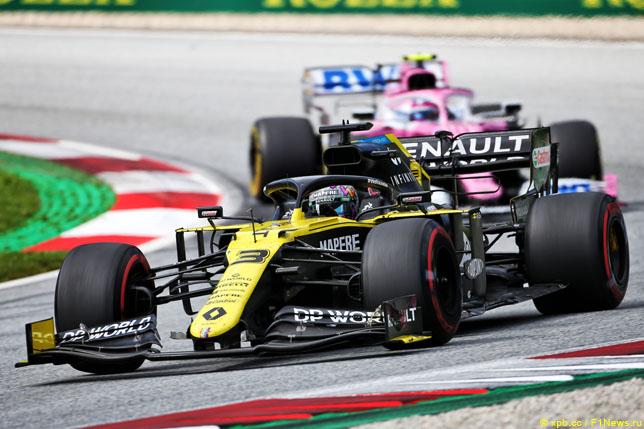 В Renault подали протест против Racing Point