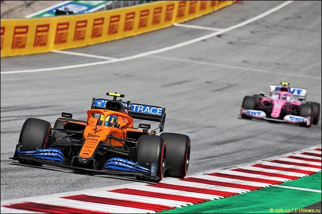 В McLaren довольны выступлением в Штирии