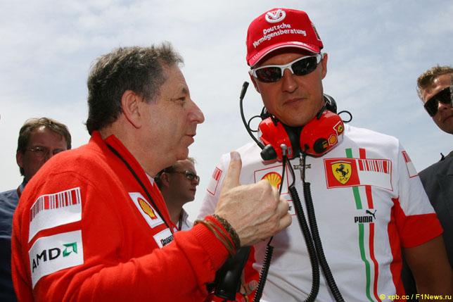 Тодт: Я смотрел бразильскую гонку вместе с Михаэлем