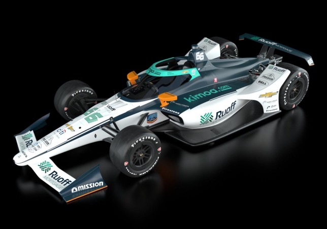 Indy 500: В McLaren SP представили машину Алонсо