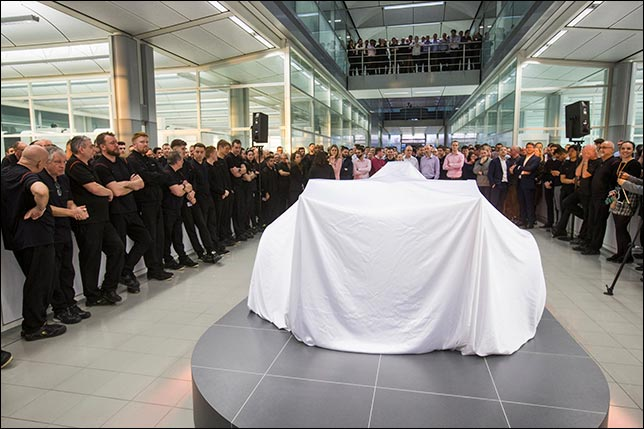 В McLaren представят машину 13 февраля