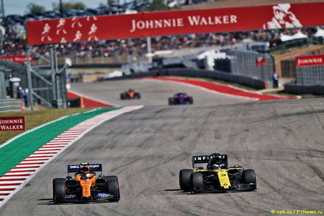 Даниэль Риккардо: У McLaren более эффективная машина