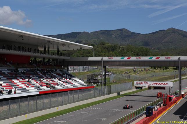 Цена билетов на гонку в Муджелло превышает 1000 евро