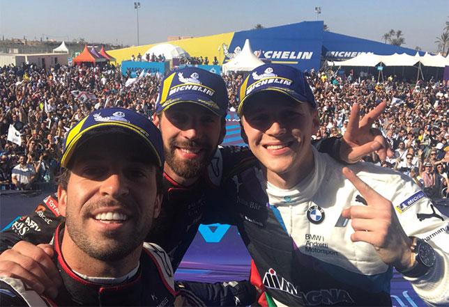 Формула E: Победа да Кошты и подиум Верня
