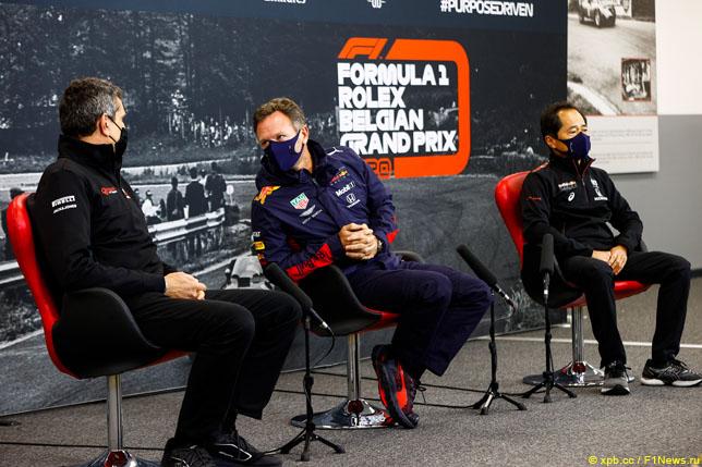 Гран При Италии: Расписание пресс-конференций