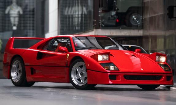 Алези пришлось продать Ferrari F40 ради карьеры сына
