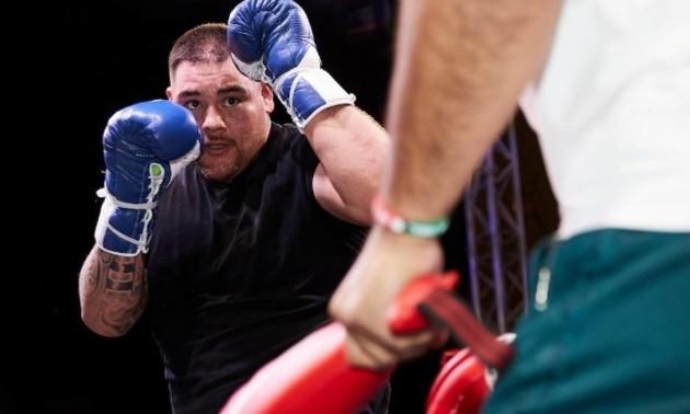 Джошуа - Руїс: боксери провели відкрите тренування напередодні бою-реваншу