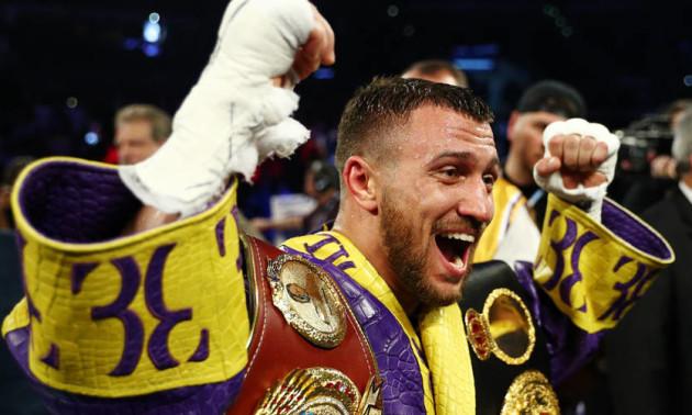 Ломаченка названо найкращим боксером світу у легкій вазі